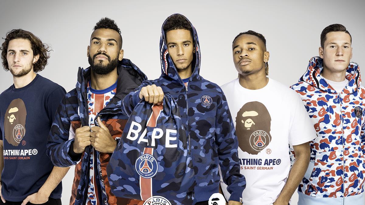 46c13dbf9f6 A Bathing Ape x Paris Saint-Germain | Paris Saint-Germain